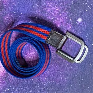 Parke & Ronen- Red & Blue Belt